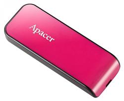 USB Flash Drive Apacer AH334 16Gb Black-Rose Pink