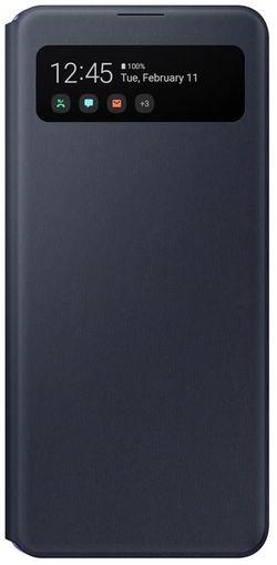 cumpără Husă telefon Samsung EF-EA415 S View Wallet Cover Black în Chișinău
