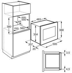 Встраиваемая микроволновая печь Electrolux LMS4253TMK