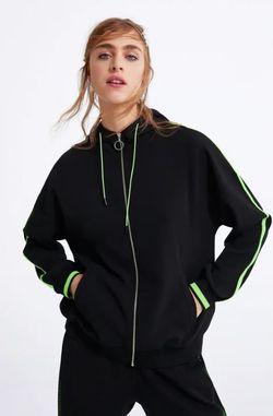 Куртка ZARA Чёрный 5039/124/800