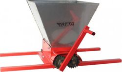 Zdrobitor de struguri manual Tatta TZ1801, Inox, 300 Kg/h, cuva detasabila 25 L