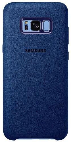 купить Чехол для смартфона Samsung EF-XG955, Galaxy S8+, Alcantara Cover, Blue в Кишинёве