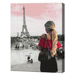Descoperind Parisul, 40х50 cm, pictură pe numere Articol: GX36129