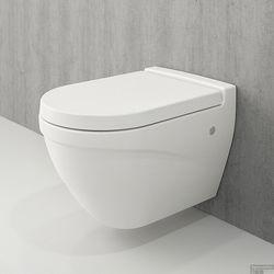 BOCCHI Taormina Rimless WC cu capac soft close