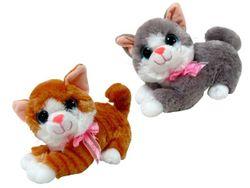 Jucarie moale Pisica 26cm cu ochi mari