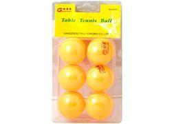 Набор шаров для настольного тенниса 6шт