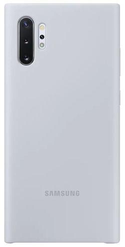 cumpără Husă telefon Samsung EF-PN975 Silicone Cover Silver în Chișinău