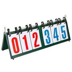 Перекидное табло для спортивных игр, 6 знаков (55.5x19 см) 0039-006 (3868)
