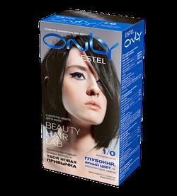 Vopsea p/u păr, ESTEL Only, 100 ml., 1/0 - Negru