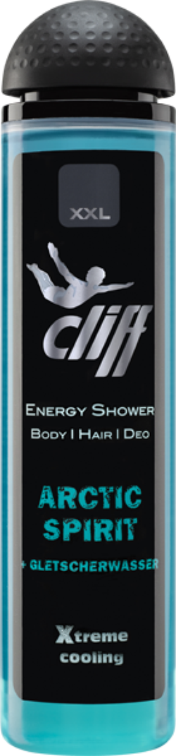 CLIFF Gel dus XXL ARCTIC SPIRIT 300ml