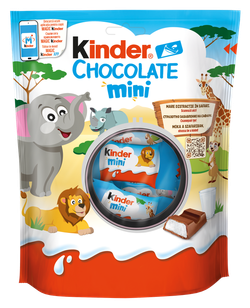 Kinder Chocolate Mini, 120 гр