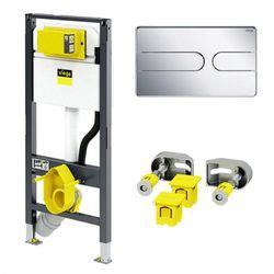 Carcas pentru WC suspendat Viega Prevista+set de fixare+ clapeta de actionare