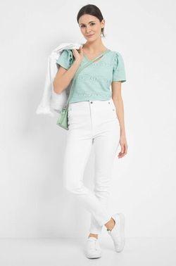 Pantaloni ORSAY Alb 316158 orsay