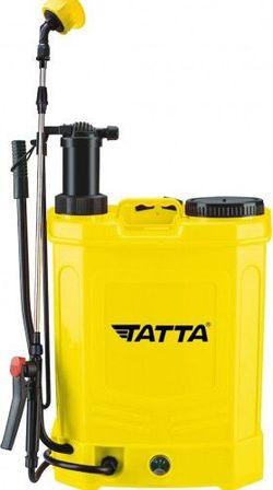 Опрыскиватель Tatta TP-2018AM, с аккумулятором и ручным управлением, 12В 8Ач, зарядное устройство 1 А, двигатель 3,6 л / мин, бак ранцевого типа, 20 л