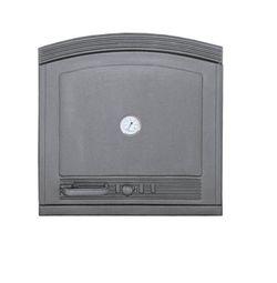 Дверца чугунная глухая правая с термометром DW5Т