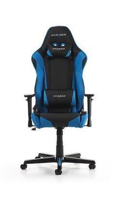 купить Gaming кресло DXRacer Racing GC-R0-NB-Z1, Black/Black/Blue в Кишинёве