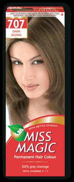 Vopsea p/u păr, SOLVEX Miss Magic, 90 ml., 707 - Blond închis
