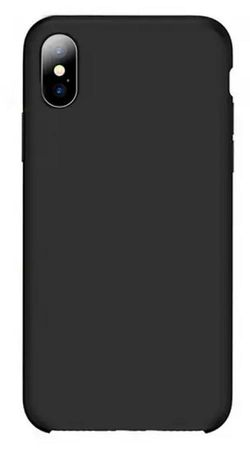 купить Чехол для смартфона Helmet iPhone X/XS, Black Liquid Silicone Case в Кишинёве