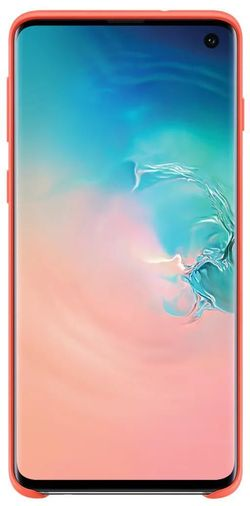 купить Чехол для моб.устройства Samsung EF-PG973 Silicon Cover S10 Pink в Кишинёве
