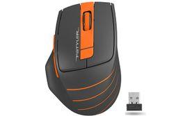 Wireless Mouse A4Tech FG30, Black/Orange
