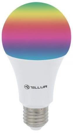 купить Лампочка Tellur TLL331011, WiFi, E27, 10W, lumina alba/calda/RGB, reglabil в Кишинёве