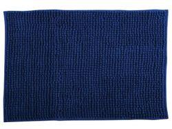 Covoras pentru baie 40X60cm Chenille albastru, microfibra