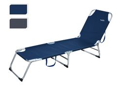 Раскладушка-кровать 187X53X27cm, max100kg, каркас алюминий