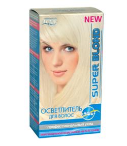 Decolorant pentru păr, ACME Super Blond, 72 g.