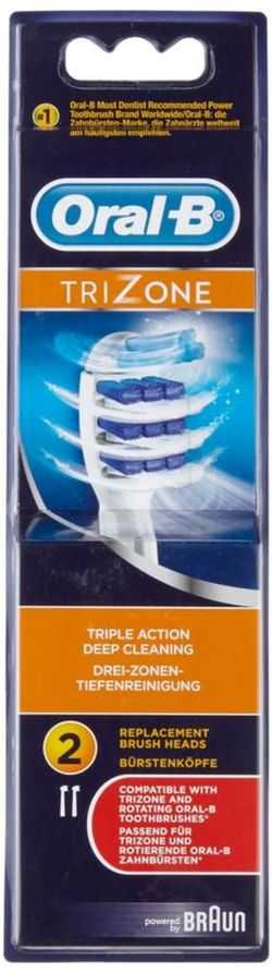 купить Аксессуар для зубных щеток Oral-B EB30 2 Trizone в Кишинёве