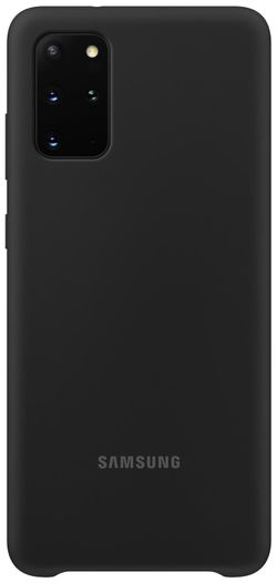 купить Чехол для смартфона Samsung EF-PG985 Silicone Cover Black в Кишинёве