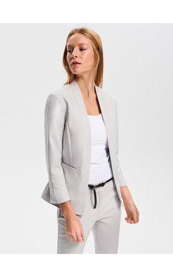 Пиджак RESERVED Светло-серый
