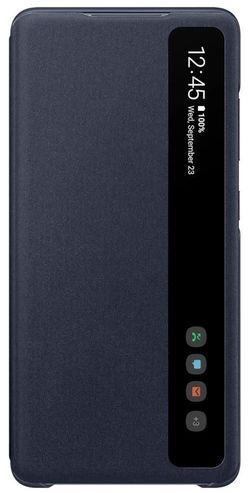 купить Чехол для смартфона Samsung EF-ZG780 Smart Clear View Cover Navy в Кишинёве