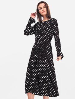 Платье TOM TAILOR Чёрный в горошек 1007627