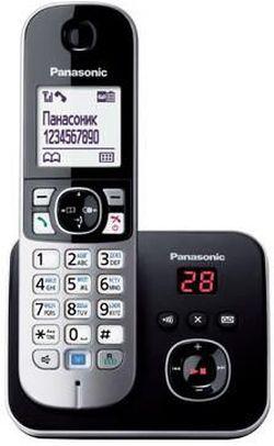 купить Телефон беспроводной Panasonic KX-TG6821UAB в Кишинёве