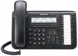 Проводной телефон Panasonic KX-DT543RU-B Black