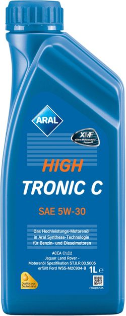 Моторное масло Aral HighTronic C 5W-30 1L
