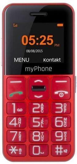 купить Телефон мобильный myPhone Halo Easy, Red в Кишинёве