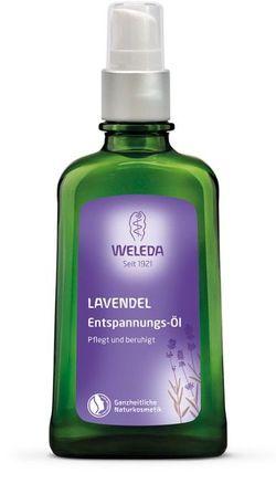 Расслабляющее масло с лавандой Weleda 100 мл