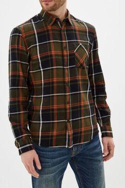 Рубашка Tom Tailor Зеленый в клетку tom tailor 1016085