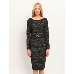 Платье TOP SECRET Черно-серый SSU1461ST