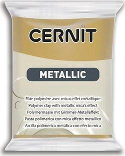 Lut polimeric CERNIT METALLIC 56g, aur