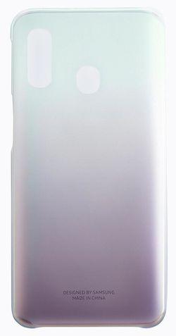 купить Чехол для смартфона Samsung EF-AA405 Gradation Cover A40 Black в Кишинёве