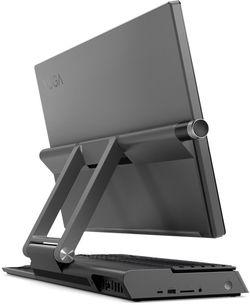 Sistem Desktop Lenovo Yoga A940-27ICB Grey (TS i5-9400 16Gb 256Gb + 1Tb W10P)