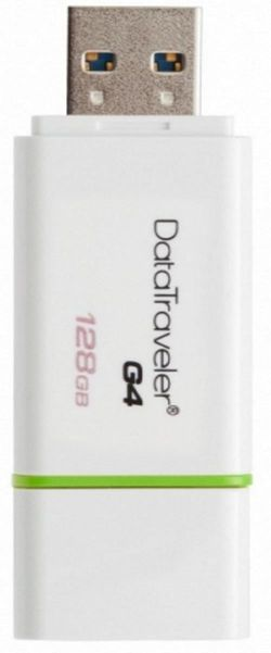 купить Флэш USB Kingston DTIG4/128GB, White/Green в Кишинёве