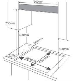 Газовая панель Midea MG696TX