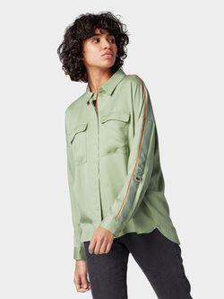 Блуза Tom Tailor Зеленый