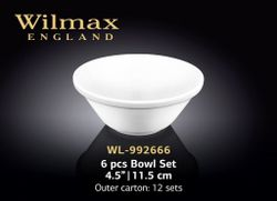 Salatiera WILMAX WL-992666 (set (6 шт) 11,5 см)