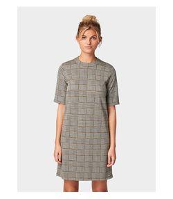 Платье Tom Tailor Серый в клетку tom tailor 1014554