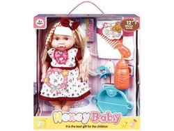 Кукла со звуком и аксессуарами (ягоды), 32.5X28.5X11сm