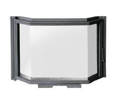 Дверца чугунная с призматическим стеклом FPL4